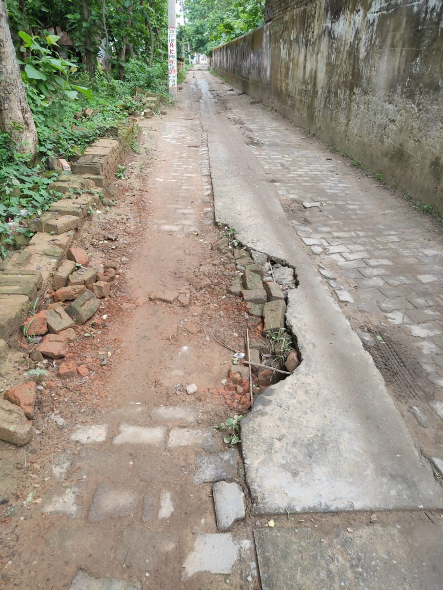 City residents suffer due to blockage of drainage