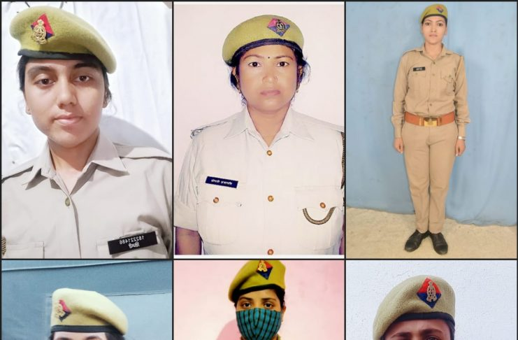 The women constables who did commendable work in the beat were awarded the best beat female constables by the Superintendent of Police, Deoria.