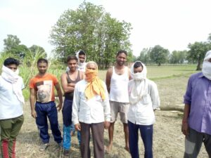 Villagers accused of demanding ₹7000 for 3 poles by Lambodar Pandey, Lineman of Electricity Department