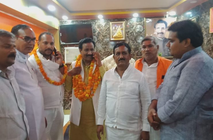 Four block chiefs elected unopposed in Bhadohi, two will be contested