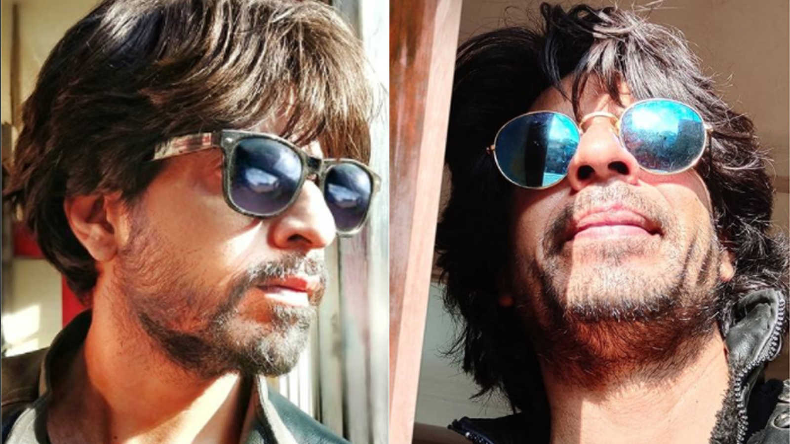 Shahrukh Khan shared a new video of himself with a new look